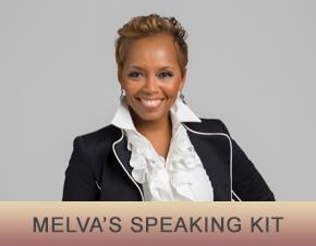 Melva Speaking